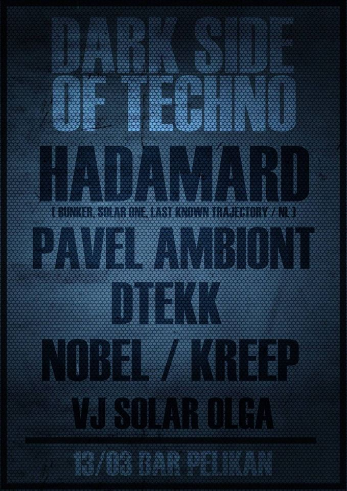 Dark Side of Techno w/ HADAMARD